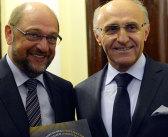 Prezident MK sa stretol s prezidentom Európskeho parlamentu