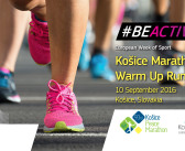 Kosice Marathon Warm Up Run