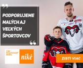 Hokejisti HC '05 Banská Bystrica podporili vďaka Fondu pre budúcnosť športu od Niké svojich športových nasledovníkov
